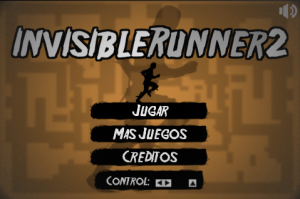 Invisible Runner 2 Menu